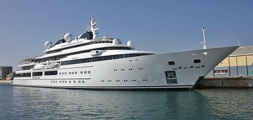 mega-yacht