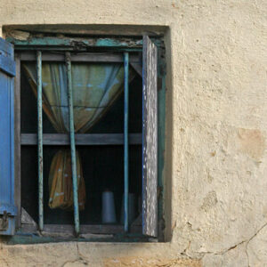 An open window in Cape Coast, Ghana