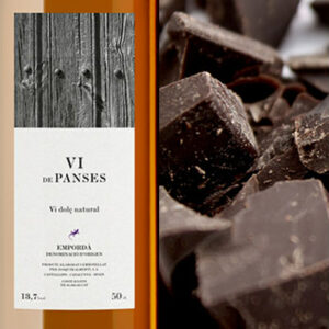 Milk chocolate, Vi de Panses, dark chocolate, Arrels del Priorat