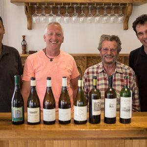 Judean Hills gents: Golan Flam, Doron Rav Hon, Eli-Gilbert Ben-Zaken, Eran Pick MW